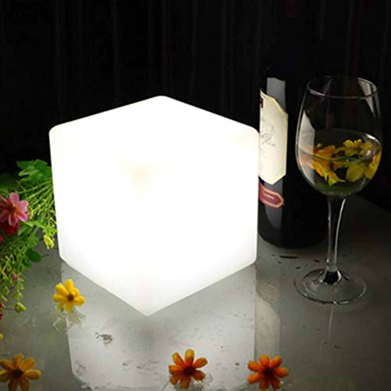 Demayple Sechzehn farbige LED-Cube Lampe mit Fernbedienung in DREI Gren Idee für Bar-TBedroom Lesesaal,10  10  10cm
