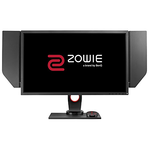 BenQ ZOWIE XL2740 68,58 cm (27 Zoll) e-Sports Gaming Monitor (Höhenverstellung, S Switch, Black eQualizer, Shield, 1ms Reaktionszeit, G-Sync, 240Hz) grau
