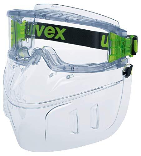 Uvex Ultravision Vollsichtbrille mit Mundschutz - Schutzbrille - Grau/Transparent
