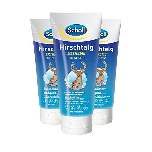 Scholl Hirschtalg Extreme, 3er Pack (3 x 100 ml)