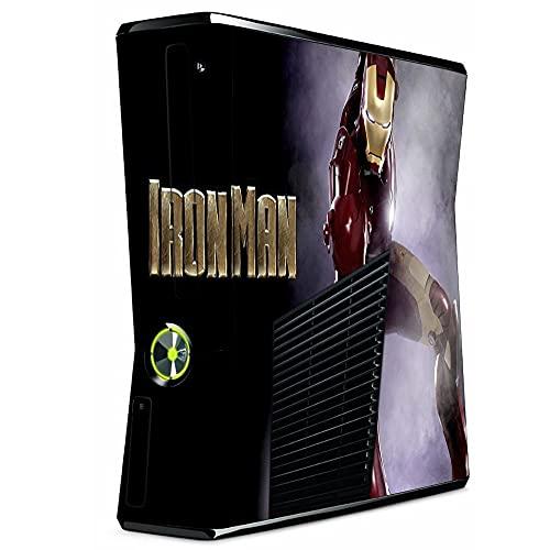 VINILOL Vinilo para Xbox 360 Slim pegatina cubierta Ironman skin para consola.