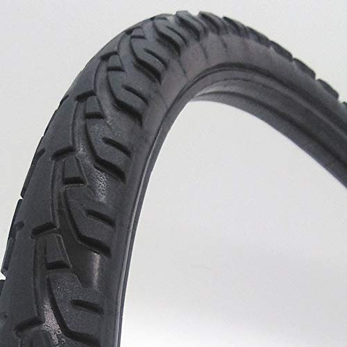 CZLSD 24 Inch Bicycle Cycling Solid Tire 24×1.50/24×1.75/24×1.95/24×2.125 Inch Bike Tubeless...