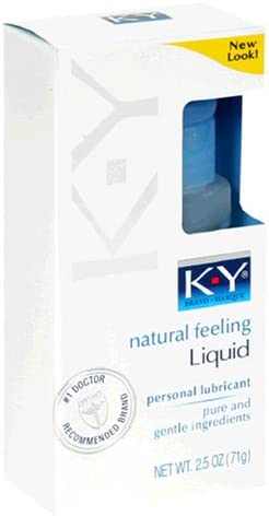 K-Y Personal Lubricant Natural Feeling OFFicial mail order Liquid 71 Sale price 2.5-Ounce g