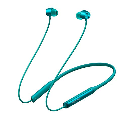 realme Buds Wireless Pro with Active Noise Cancellation (ANC) in-Ear Bluetooth Headphones with Mic (Green)