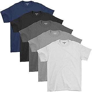 Kit 05 Camisetas Básicas Masculinas De Algodão Premium