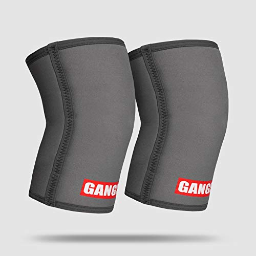 Sling Shot Gangsta Knee Sleeves - Grey L