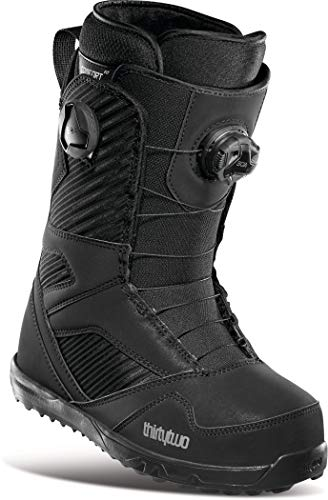 Thirty Two STW Double BOA - Botas de snowboard para mujer, color negro, talla 6