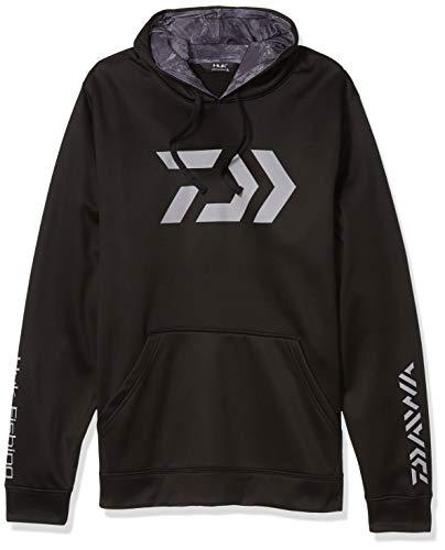 Daiwa H13D0001BLK04 Vector Huk Kapuzen-Sweatshirt, Größe XL, Schwarz