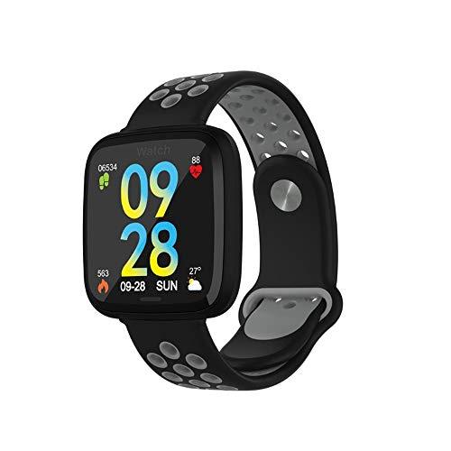 BCGTIK Nieuwe Hot Sale 1,3 Inch Kleur Scherm Touch Waterdichte Smart Armband Gezondheid Monitoring Bluetooth Armband Afstandsbediening Camera Multi-Kleur Optionele Multi-Functie Horloge Zwart