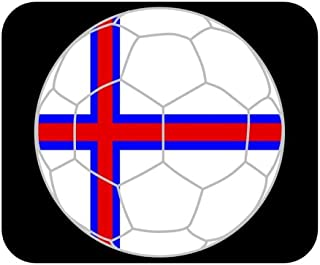 Faroese Soccer Mouse Pad - Faroe Islands