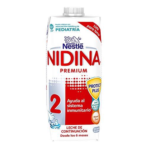 Nestlé Nidina Leche de Continuación, 500ml