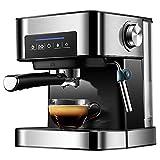 GUARD Máquina de café de Oficina LS, hogar Italiano, pequeña, semiautomática Comercial, Espuma de Leche de Vapor de Alta presión 20bar