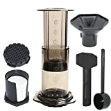 Eco Tnn KITWarm Press Coffee Maker Pot Portable Coffee Maker Air Press Espresso Machine with 350pcs Filter Papers