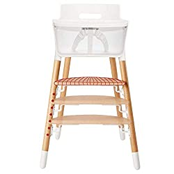 Asunflower Wooden High Chair Adjustable