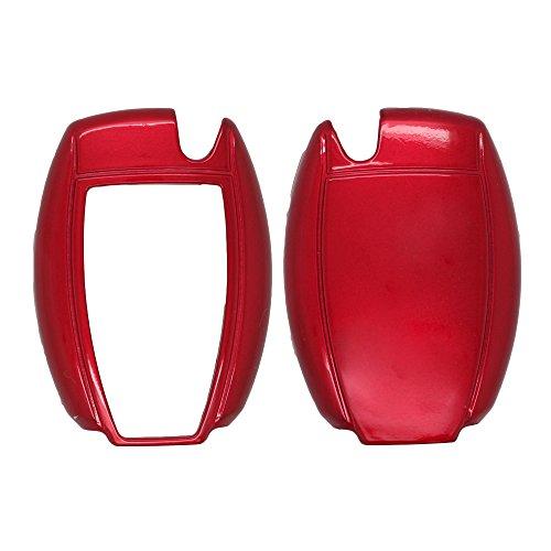 fassport Peinture couleur métallique Shell Housse Coque Support pour Mercedes Benz Smart Télécommande Clé 0950