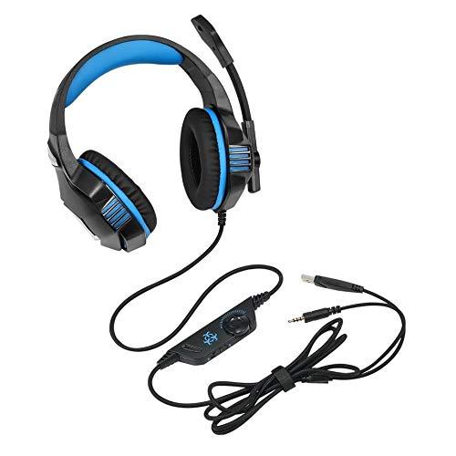 Nowakk Hunterspider Geräuschisolation Kopfhörer-Headset Komfortable Stereo-Musik-Computer-Gaming-Kopfhörer V3