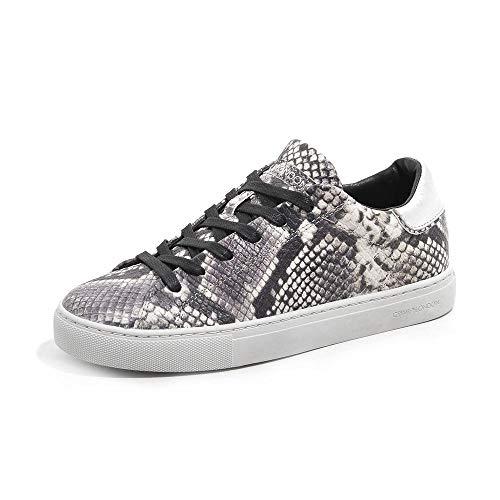 Crime London Damen Beat Sneaker, BEIGE, 35 EU