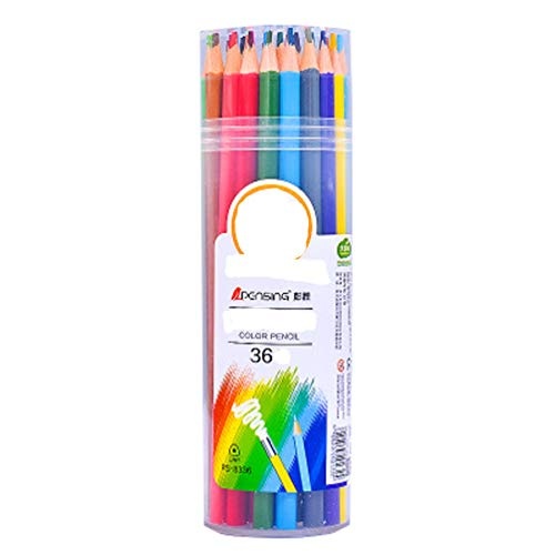 Buntstifte (36er Pack) von Hochwertige Kunst-Buntstifte für Kinder Erwachsene Künstler Skizzenzeichner Perfekt für das Buntmalen der Erwachsenen Schulprojekte Zeichnen mehr
