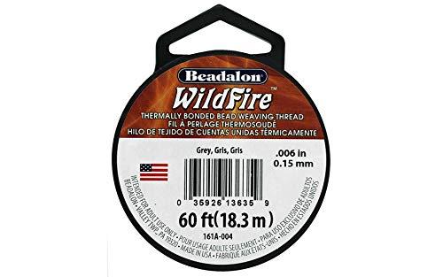 Wildfire 0,15mm grau 20Yd (3m), 1Stück