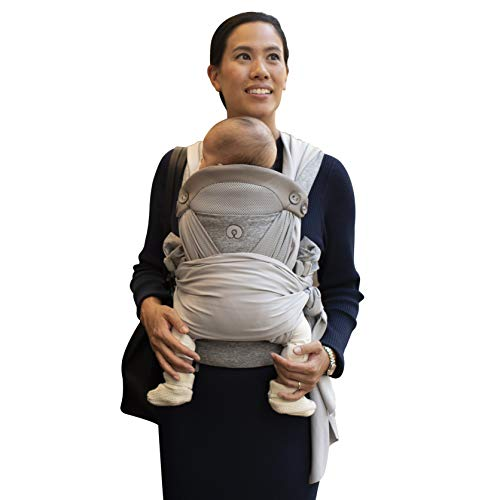 Boppy ComfyChic Hybrid Baby Carrier, 4 Carrying Positions, Pearl