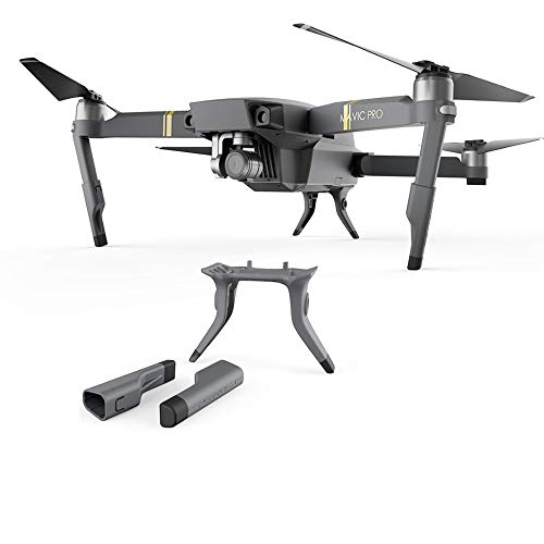 PGYTECH Mavic Pro Extended Landing Gear Leg Support Protector Extension Replacement ONLY Fit For DJI Mavic Pro drone Accessories (NOT Compatible Mavic 2 Series)