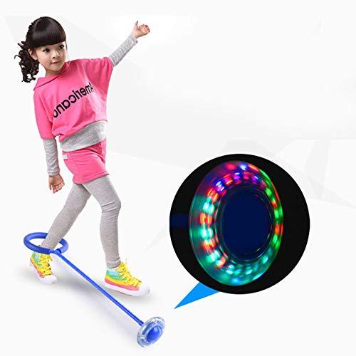 BAIXING Faltbare Kinder Knöchel Sprung Ball Farbe Blinkenden Springring, Fitness Sport Springball Spielzeug Fettverbrennung Spiel Für Erwachsene Und Kinder