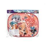 ARDITEX PW11534 Protectores De Sol para Ventanas - 2 Unidades - Incluye póster para Pintar de Nickelodeon-Patrulla Canina