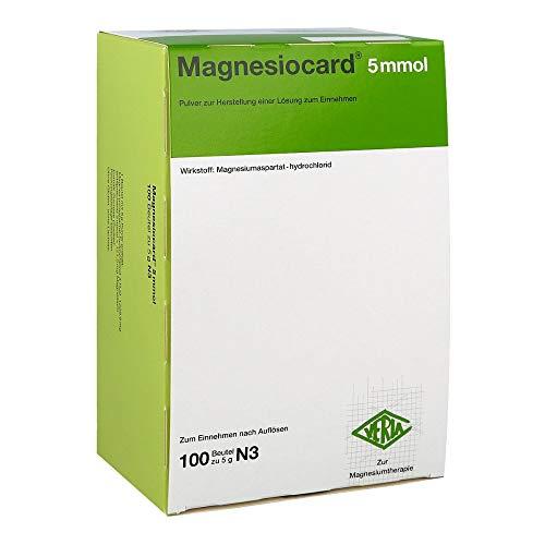 Magnesiocard 5 mmol, 100 St. Beutel
