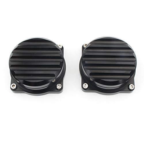 Beada Cubierta del carburador de inyección CNC para la motocicleta Bonneville Scrambler Thruxton 900 2008-2015 Accesorios Negro