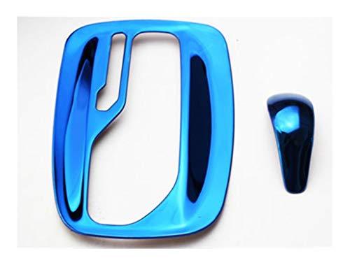 furong Automático de Acero Inoxidable Gear Pegatinas de Coches Accesorios para Opel Insignia Sport Tourer Sedan 2009 2010 2011 2012 2013 2014 2015 (Color Name : Blue)