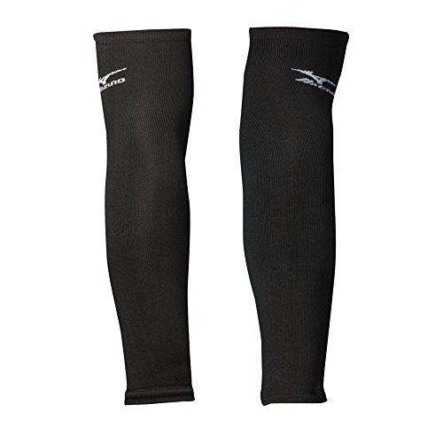 Mizuno Arm Sleeves, Black, OSFM