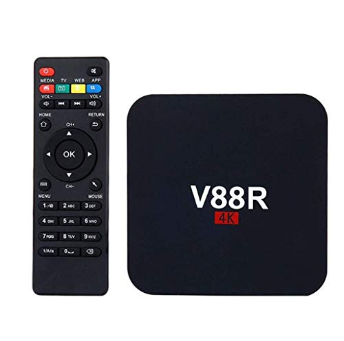 Conbre V88R Pro 4K {Updated} Ultra HD Smart Streaming Media Player Android TV Box