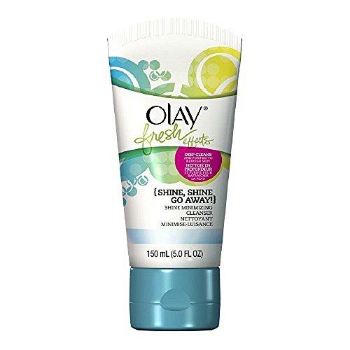 Olay Fresh Effects Shine, Shine Go Away! Shine Minimizing Cleanser, 5 oz.