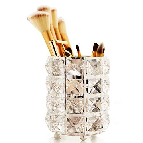 Singeru - Vaso para brochas de maquillaje, organizador de utensilios de maquillaje