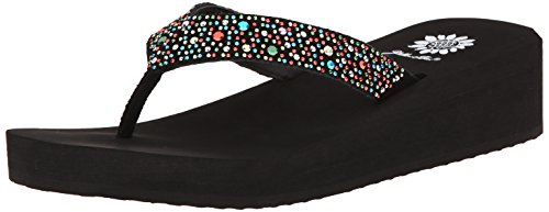 Yellow Box Women's Africa Flip Flop, Multi, 7.5 M US