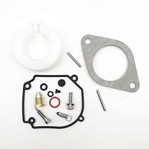 WZRY Kit de reconstrucción de carburador, Kit de reparación de carburador 75-90HP 18-7291 6H1-W0093-01 Fácil de Instalar y Duradero Kit de reparación de carburador