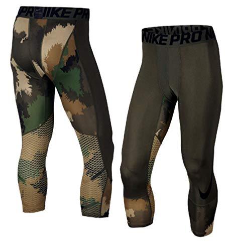 Nike Men's Pro Hypercool Printed 3/4 Training Tights 904632 325