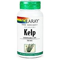 Solaray Alga Kelp Cápsula - Pack de 60