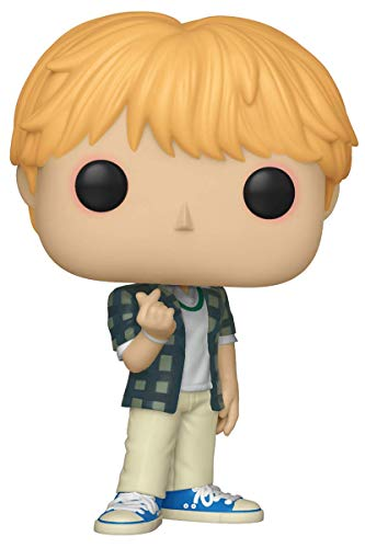 Funko- Pop Vinilo: BTS: Jin Figura Coleccionable, Multicolor, Estandar (37862)