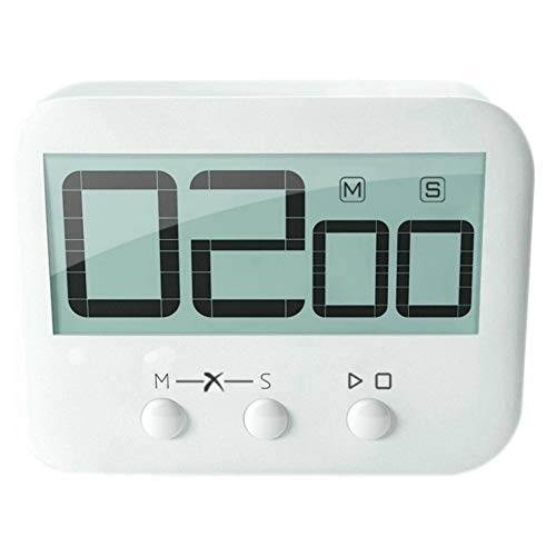 Eco4us - Digital Kitchen Timer, Food Timer, Multi- Purpose Timer, Countdown Function, Stopwatch Function