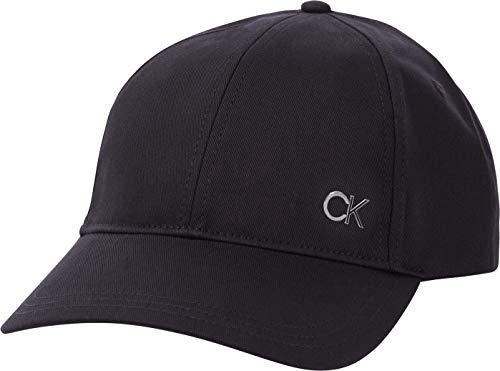 Calvin Klein Herren Bb Cap Baseballkappe, Ck Schwarz, Einheitsgröße