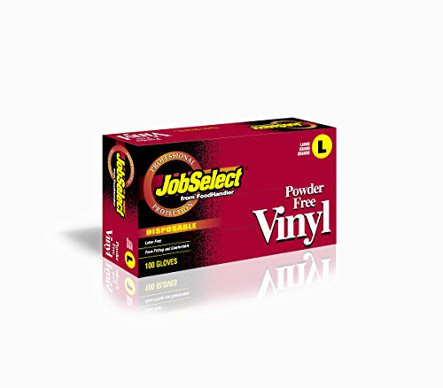 JobSelect 102-214 JobSelect, Vinyl, MD, Clear (Pack of 1000)