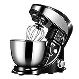 SWQG-Sartén Soporte Eléctrico Robots de Cocina Multifuncional Batidora Amasadora Repostería 4L...