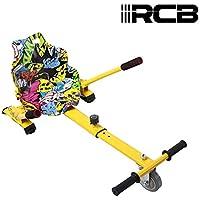 Hoverkart para Patinete eléctrico Asiento Kart para Self Balancing Scooter Longitud Ajustable, Compatible con Todos los patinetes - 6.5/8 / 8.5/10 Pulgadas