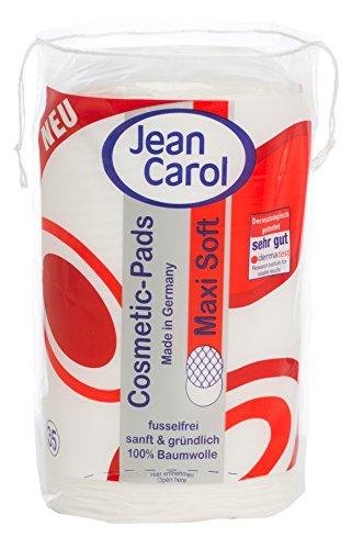 Jean Carol Duo Pads Maxi Soft, Oval, 10er Pack (10 x 35 Stück)