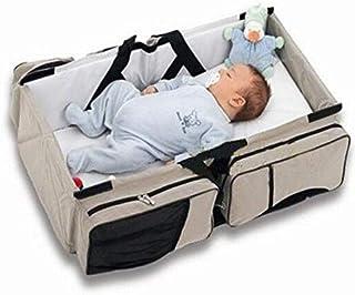 Unisex Baby Travel Bag Cot Bag 2 In 1