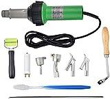 InLoveArts Pistola de calor para soldadura, 1600w 30-680 ℃ Pistola de aire caliente con ...