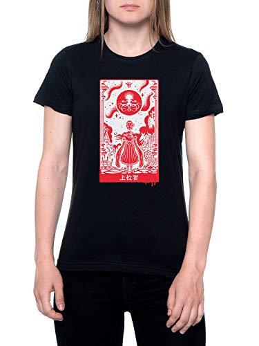Überlegen Einsen T-Shirt Damen Schwarz T-Shirt Women's Black
