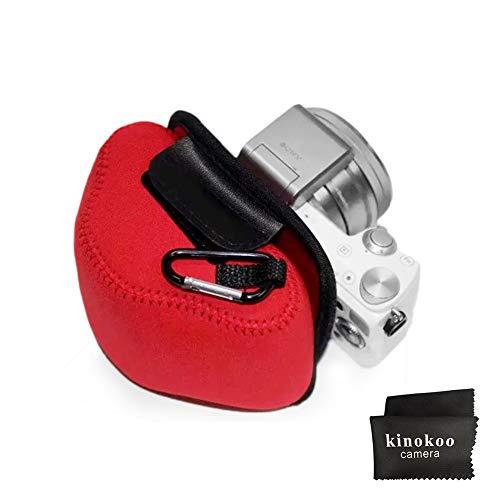 kinokoo Universal Neopren-Tasche für SONY NEX-5T/NEX-5R, Fuji X100T/X100F/X100S, Leica X2/XE/X1/D-LUX4/D-LUX5/D-LUX6, Schutzhülle