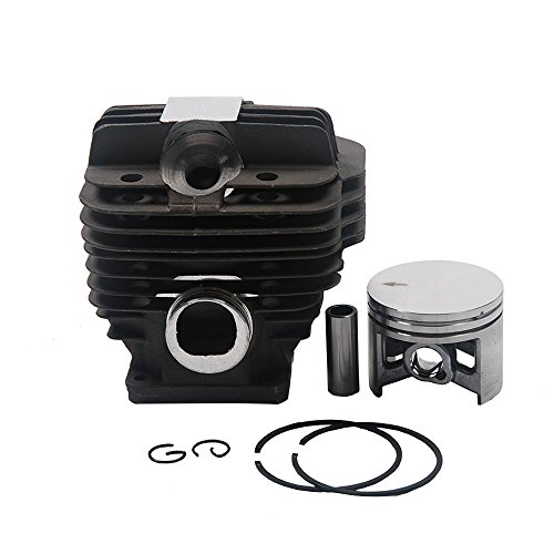 SaferCCTV(TM) Chainsaw Piston Cylinder Kit Big Bore 50mm for STIHL MS440 044 Chainsaw Replacement Part# 11280201227